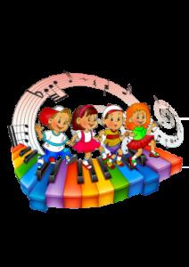 Музыкальные занятия в детском клубе Радуга